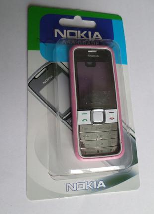 Корпус Nokia 7310 розовый+клавиатура Супер качество