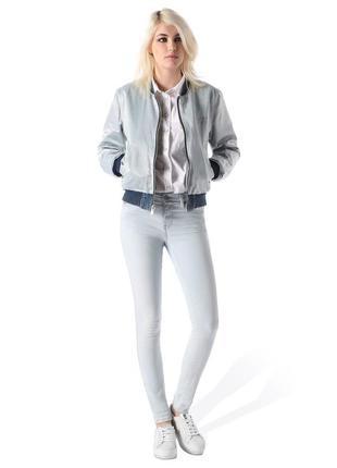 Diesel джинсы skinny голубые италия
