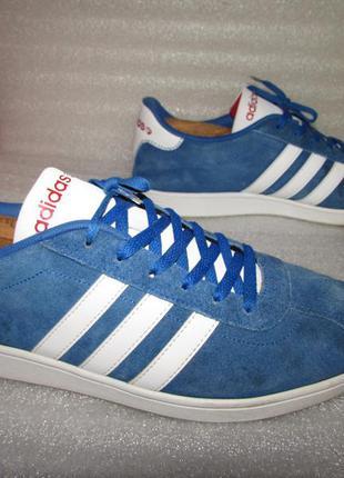 Замшевые кроссовки ~ adidas neo label ~ р 45
