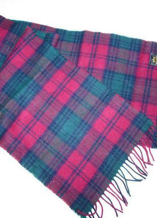 Мужской шарф шотландия овечья шерсть~bhs~оригинал
