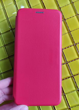 Чехол Xiaomi Redmi 9 книга premium червона
