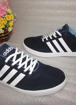 Хлопковые кроссовки~ adidas neo label~ вьетнам оригинал р 44 /...