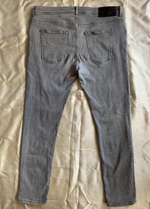 Серые мужские джинсы River Island 36/30 150 грн.