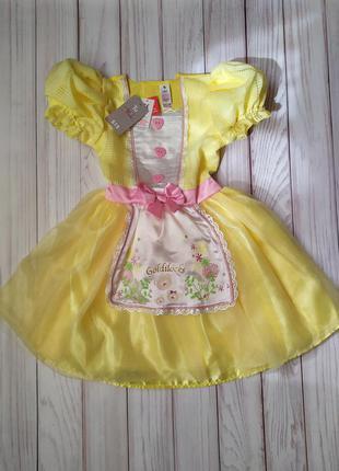 Платье златовласка 5-6 лет