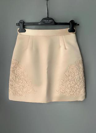 Dolce gabbana  юбка шёлк италия оригинал