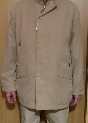 Мужская светлая куртка р. 54-56 Новая