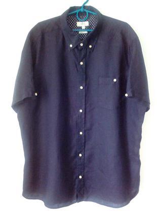 Качественная льняная рубашка