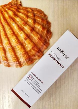 Эссенция Isntree Clear Skin 8% AHA Essence