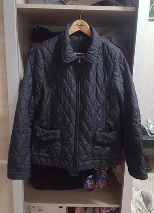 Стеганая трендовая куртка стеганная easybee италия
