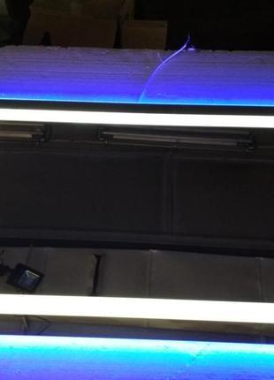 Зеркало ЛЕД подсветка + алмазная гравировка.