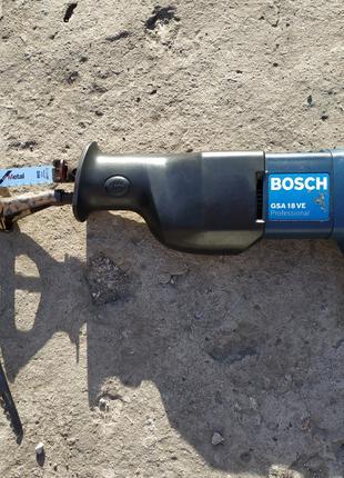 БЕСПЛАТНАЯ ДОСТАВКА Аккумуляторная сабельная пила Bosch
