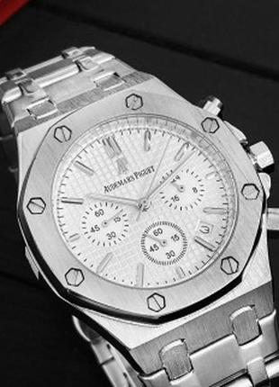 Наручные часы Audemars Piguet Royal Oak Chronograph Silver-White