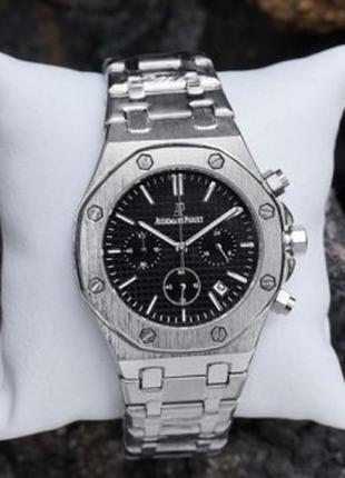 Наручные часы Audemars Piguet Royal Oak Chronograph Silver-Black