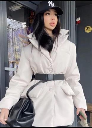 Куртка с поясом распродажа