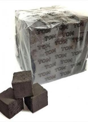 Кокосовый уголь для кальяна Tom Cococha Gold 1кг, большой кубик