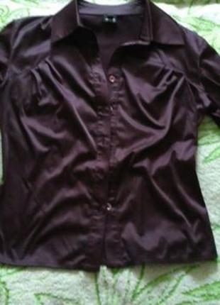 Рубашка шоколад