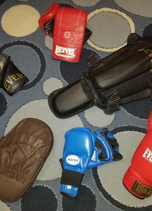 Лапы,боксерские перчатки защита для бокса и борьбы