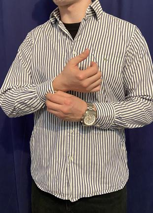 Классическая мужская рубашка Lacoste L