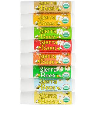 Sierra Bees, органические бальзамы для губ по штучно