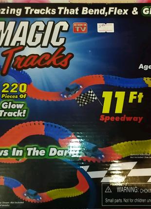Трек с машинкой Magic tracks