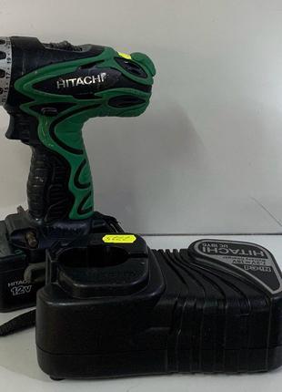 Аккумуляторная дрель-шуруповерт Hitachi DS12DVF3