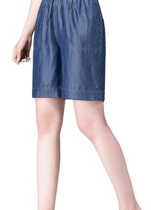 Женские шорты бермуды хлопок