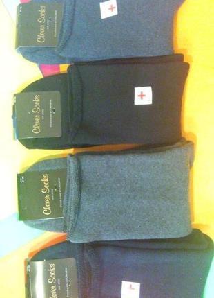 Носки махровые мужские медицинские (без ризинки) фирма клевер ...