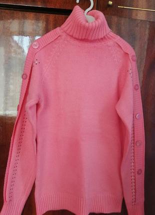 Кофта женская тёплая, свитер, гольф