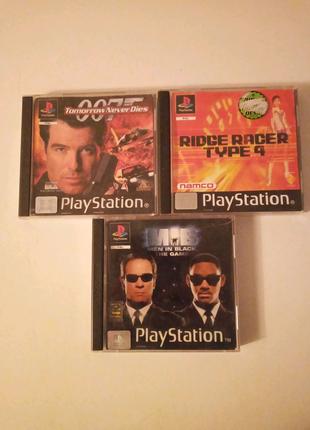 Продам игры PS1 лицензия.одним лотом