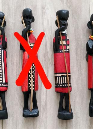 Магнит, Танзания, Занзибар.Магнитик ручной работы из Африк-Племя