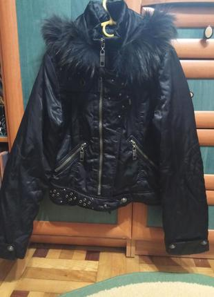 Деми куртка / куртка / куртка с мехом / укороченная куртка