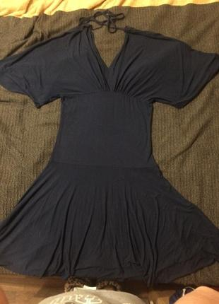 Ichi платье сукня темно-синее