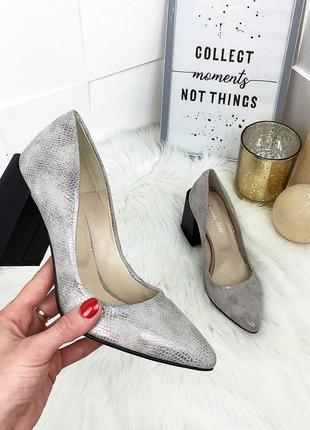 Роскошные туфли натуральная кожа