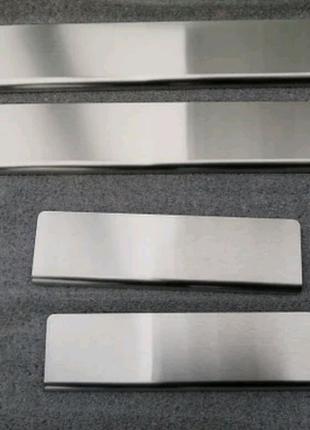 Накладки на пороги Hyundai Elantra VII (CN7) 2020-