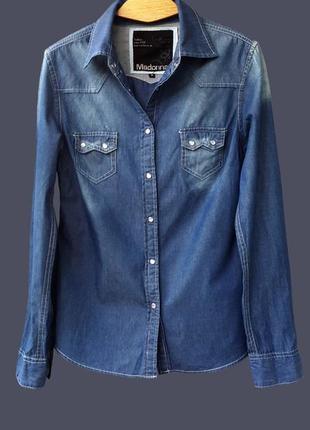 Джинсовая рубашка madonna (германия)