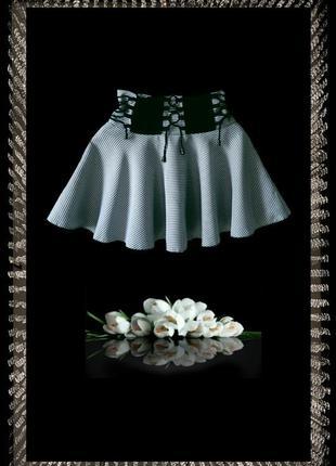 Расклешённая юбка-солнце (польша)