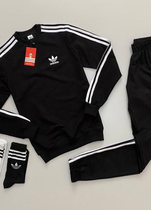 Весении спортивные костюмы Adidas, 5 вариантов в 2-х цветах