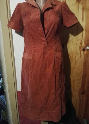 Платье вельвет