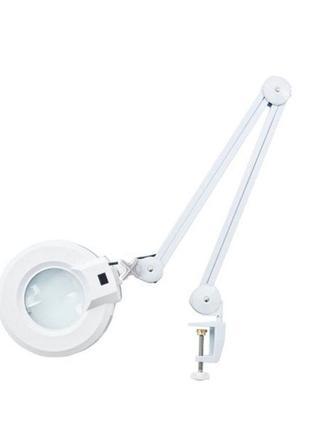 Лампа-лупа с LED подсветкой SP-36 на струбцине Код: 4109