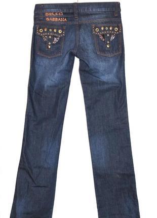 Крутые джинсы классика люкс бренд dolce & gabbana, италия ориг...