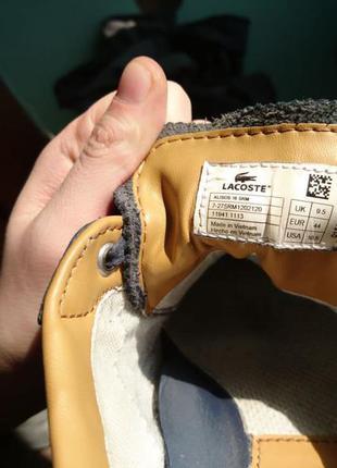 СРОЧНО!Продам кроссовки Lacoste оригинальные