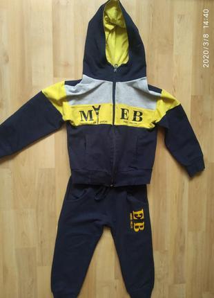 Стильный спортивный костюм 1-2 года