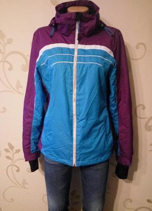 Crivit . лыжная куртка парка курточка с капюшоном