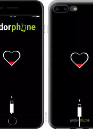 Чехол на iPhone 7 Plus Подзарядка (4274t-337)