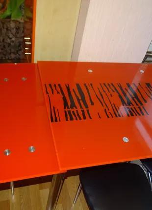 Стіл обідній Maximum DT TR 1100/800 арт-зебра