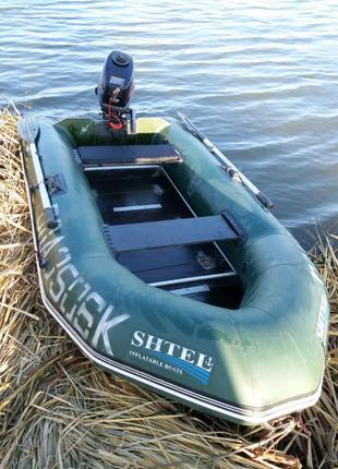 Продам 2-х местную лодку с транцем