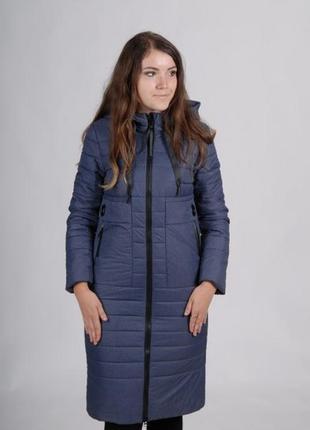 Длинная женская куртка осень 2019