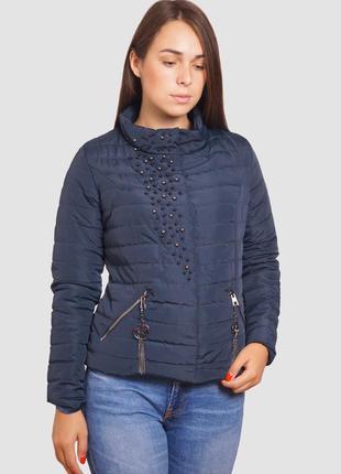 Женская куртка короткая осень