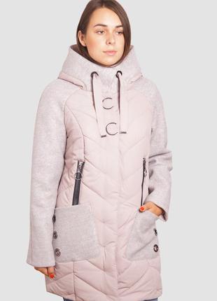 Женская куртка демисезонная длинная