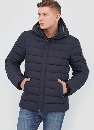 Мужская зимняя куртка на биопухе